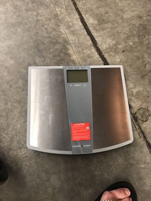 Health o meter digital scale for Sale in Renton, WA