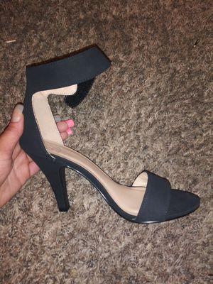 Black ankle strap heels 👠 for Sale in Gresham, OR