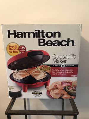 Quesadilla Maker-Hamilton Beach for Sale in Columbus, OH
