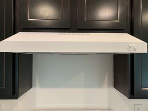 NEW - GE White Glass Top Range with Hood for Sale in PT CHARLOTTE, FL