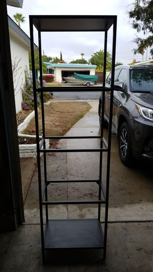 5 tier shelf with 3 glass shelves for Sale in San Diego, CA
