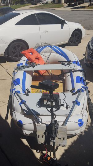 Sea eagle 8h inflatable boat for Sale in Fontana, CA