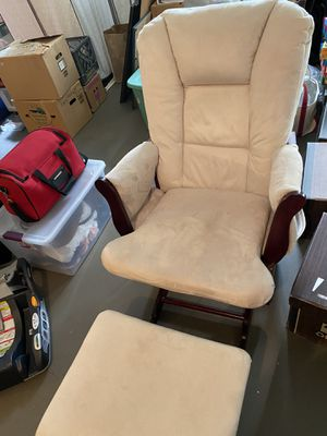 Wooden gliding rocking chair for Sale in Portland, OR