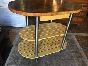 Rolling bar serving cart for Sale in San Diego, CA