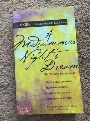 Shakespeare Book, Midsummer Night's Dream for Sale in Lakewood, CO