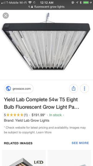 Floresent grow lights t5 t 8 system lights for Sale for sale  Bristol, PA