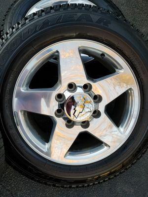 "20"" Chevy Silverado ltz Z71 HD stock wheels tires LIKE NEW! for Sale in Bolingbrook, IL"
