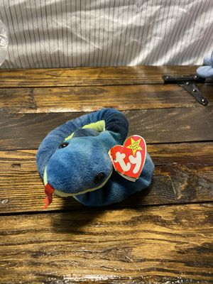 Hissy the snake beanie baby original DOB April 4th, 1997 for Sale in Rye, NY