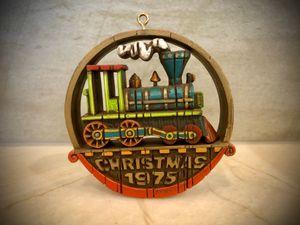 Hallmark 1975 Steam Train Christmas Tree Ornament for Sale in Morrison, CO