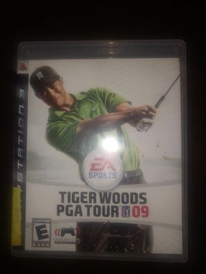 Tiger Woods 09 ps3 for Sale in Stockton, CA