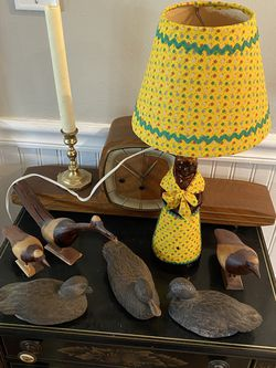 Collectable Antique Handmade Mrs. Buttersworth Syrup Table Lamp with Shade for Sale in Suffolk,  VA
