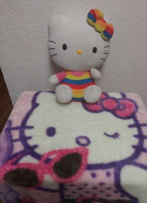Hello Kitty Kids Doll n Blanket Comvo for Sale in Las Vegas, NV