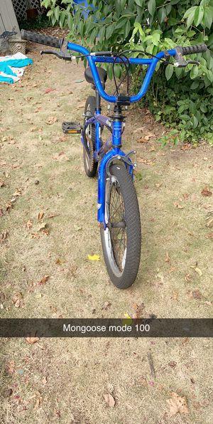Mongoose mode 100 boys bike for Sale in Prattville, AL