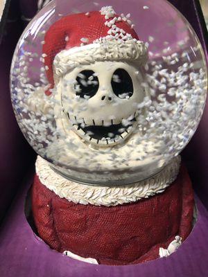 Tim Burtons Nightmare Before Christmas Santa Jack Skellington Snow Globe for Sale in Valrico, FL