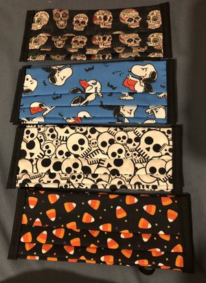 Women's/teens Halloween face masks face covers for Sale in Norwalk, CA