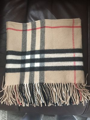 Authentic 100% Burberry Scarf/ Muffler for Sale in Guilford, CT