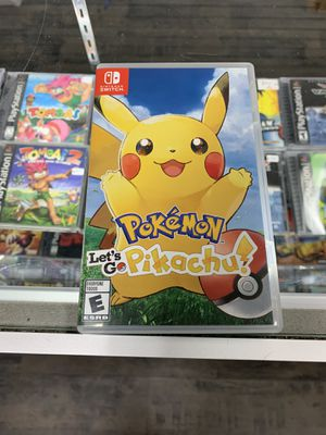 Pokémon let's go pikachu $40 Gamehogs 11am-7pm for Sale in Commerce, CA