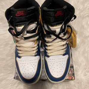 Union X Air Jordan 1 Retro High 'Storm blue' for Sale in Atlanta, GA