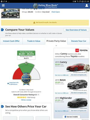 2010 Toyota Camry for Sale in Washington, DC