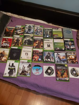 XBOX 360 GAMES for Sale in Baltimore, MD