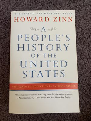 A People's History Of The United States by Howard Zinn for Sale in Brunswick, OH