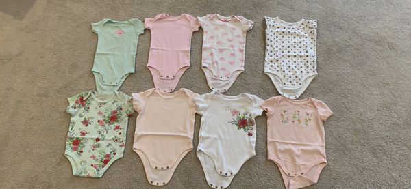 Baby girl bodysuits 6-12 months