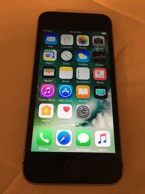 Carrier unlocked iPhone SE 16GB for Sale in McLean, VA
