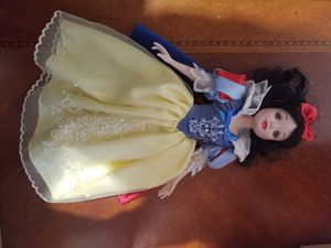 Snow White porcelain doll Disney for Sale in Westminster, CO