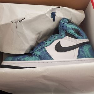 Air Jordan 1 (Tie Dye) Size 9 for Sale in Colton, CA