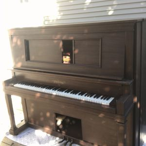 Free Chickering Upright - TODAY ONLY In Okay Tune, Ivory Keys, All Keys Work Except One for Sale in Oakland, CA