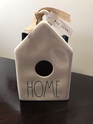 "Rae Dunn ""Home"" Birdhouse for Sale in La Habra, CA"