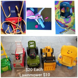 Kids Lot! Ride Ons , Trike & Baby Swings - Located In Branford for Sale in Branford, CT
