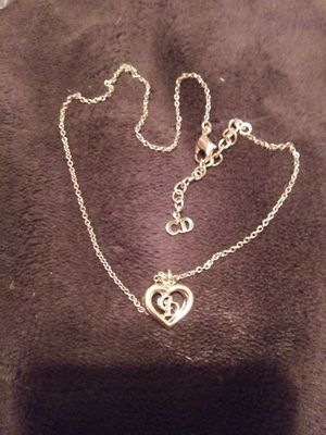 Aithentic Christian Dior heart necklace for Sale in Vancouver, WA