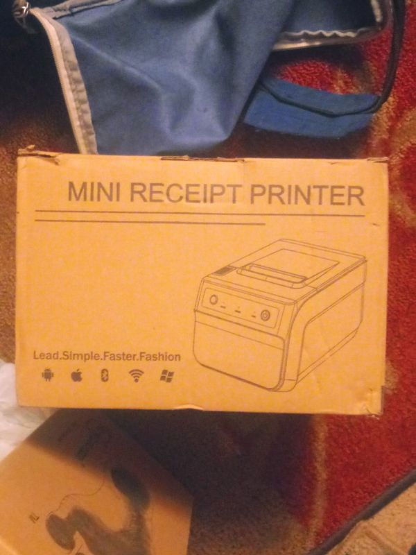 Thermal mini receipt printer