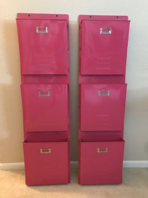 Wall File Mount - Pink for Sale in Wenatchee, WA
