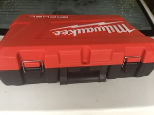 Milwaukee power tool case for Sale in Providence, RI