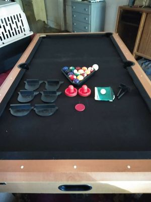 AIR HOCKEY, PING PONG & POOL TABLE! for Sale in Mebane, NC