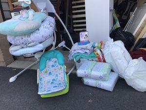 Baby swing bundle set for Sale in Herndon, VA