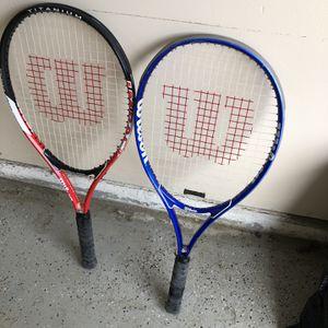 Wilson Tennis Rackets for Sale in Houston, TX