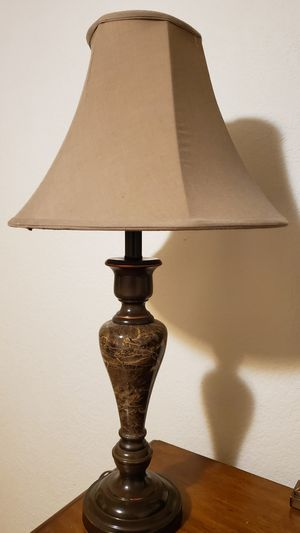 "Beautiful Marble Table Lamp ( 27"" Tall) for Sale in Everett, WA"