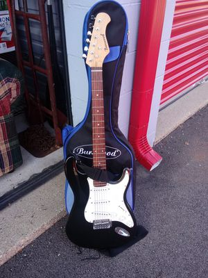 Burswood electric guitar with bag/backpack for Sale in Aurora, IL