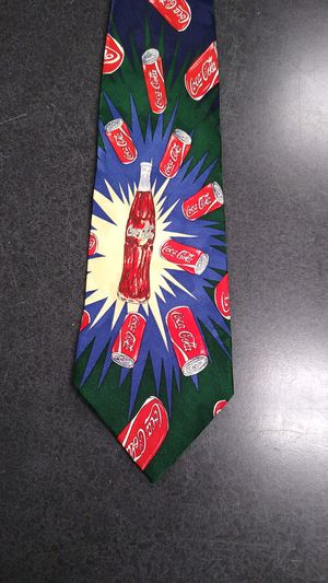 SILK Coca-Cola TIE for Sale in Virginia Beach, VA