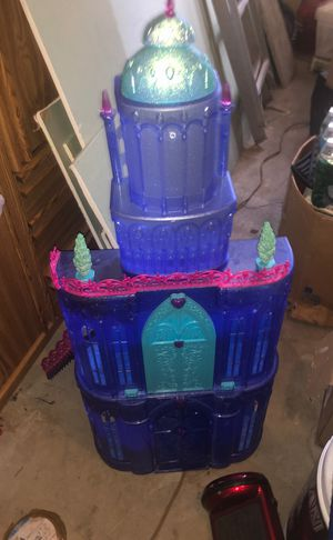 Barbie Castle. With dolls and funiture +car and bike for Sale in Manalapan Township, NJ