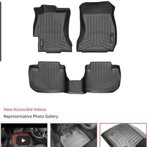 2015 WRX/STI WeatherTech Floor Liners - Front & Rear for Sale in Tacoma, WA