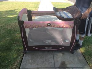 Graco Pack n Play with Changing table...for girl. for Sale in Fresno, CA