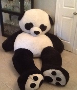 Approximately 8 ft tall stuffed Panda Bear for Sale in Palm Harbor, FL