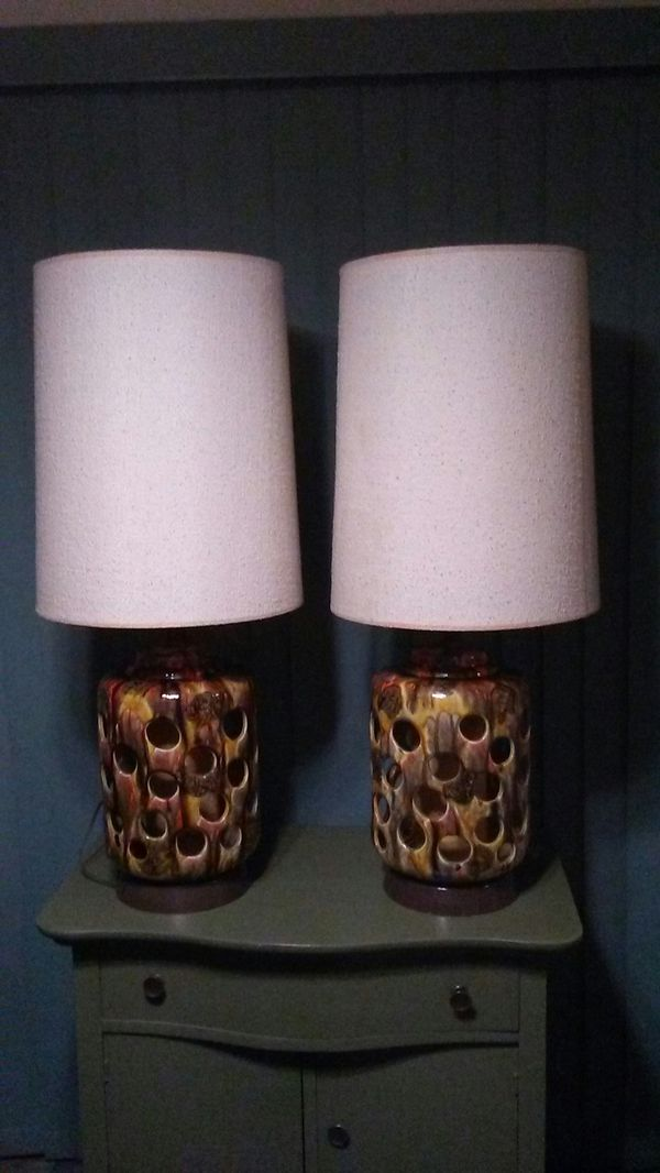 Retro 70's Lamps