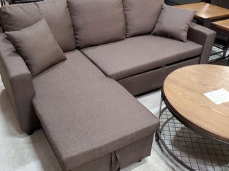 Chocolate Brown Sleeper Sectional *BRAND NEW* for Sale in Columbia,  MD
