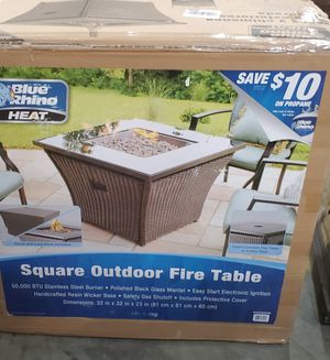 Propane Fire Table for Sale in Prior Lake, MN