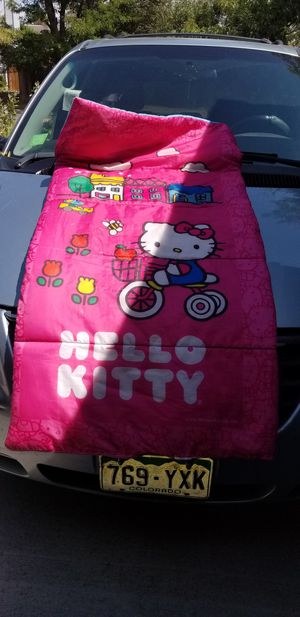 Hello kitty kids sleeping bag for Sale in Aurora, CO